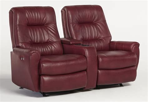 double recliner sofa with console dual reclining sofa with console carson plush living room