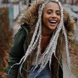 Thick Box Braids