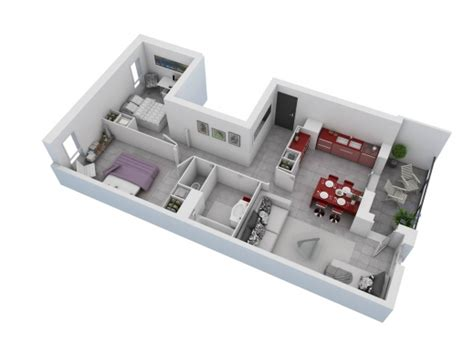 25 More 2 Bedroom 3d Floor Plans by Wonderful 25 More 2 Bedroom 3d Floor Plans 7 Iranews