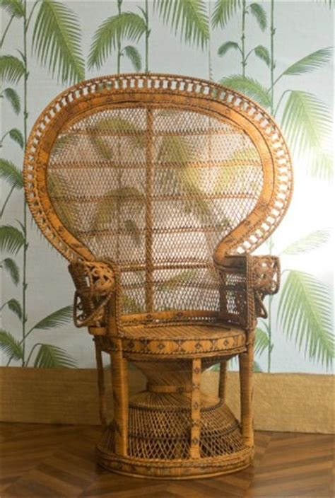 chaise emmanuelle emmanuelle chair vintage rattan armchair vintage
