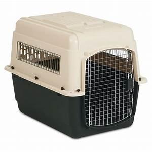 Petmate ultra vari dog kennel petco for Petmate large dog kennel
