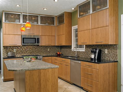 Bamboo Kitchen Cabinets For Your Traditional Design Home