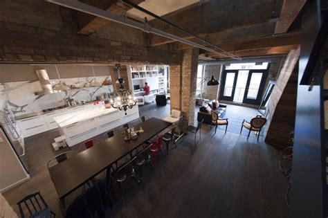 erie loft industrial kitchen chicago by moss