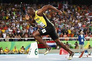 Usain Bolt beaten in 100m race at Rio 2016 by Rubiks cube ...
