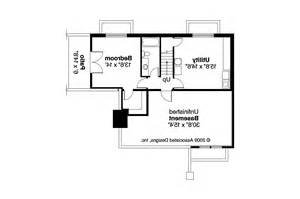 two house plans with basement bungalow house plans lone rock 41 020 associated designs