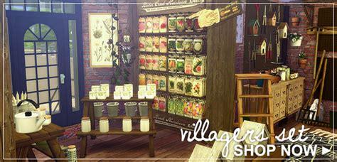 sims  blog villagers set  modernvillager