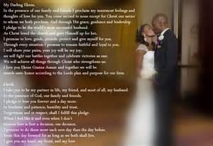 biblical wedding vows christian themed wedding