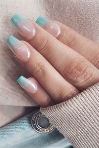 chilly for winter ombre nail ideas combination