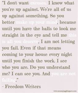 Freedom Writers | Quotes | Pinterest