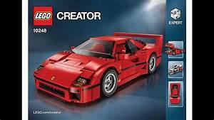Lego Ferrari F40 Lego Ferrari F40 Announced Iconic 1987 Supercar S