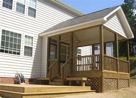 how to add a gable roof to a front porch ehow uk