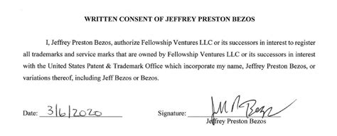 Transparent Jeff Bezos Signature - The Adventures of Lolo