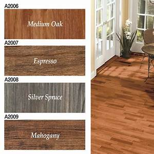 faux medium oak hardwood vinyl floor planks from With faux parquet pvc
