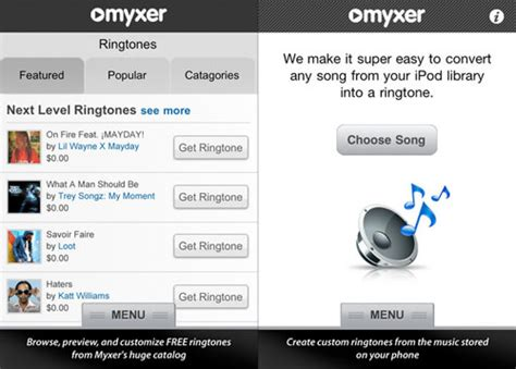 myxer iphone mobile apps resource 15 apps to free iphone