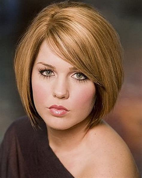 best hairstyle for thick hair round face short hairstyles for thick hair and round face