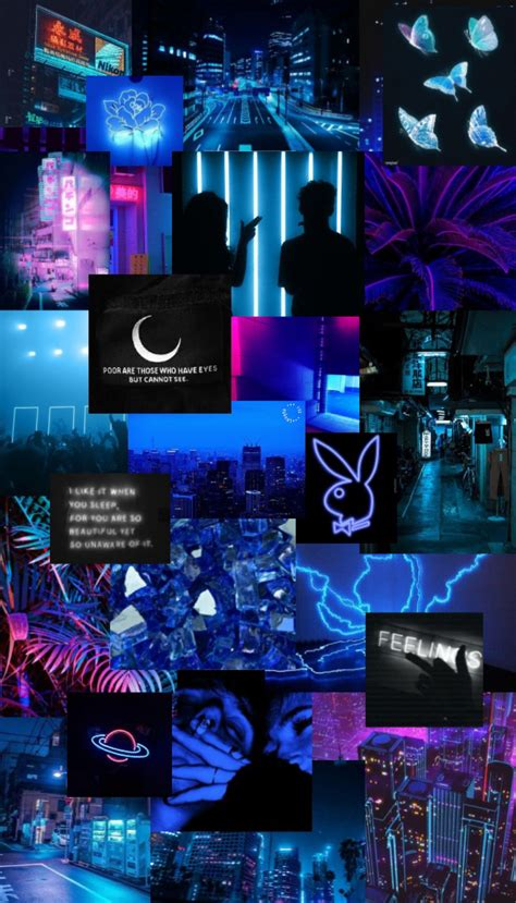 neon blue aesthetic iphone wallpaper wallpaper iphone