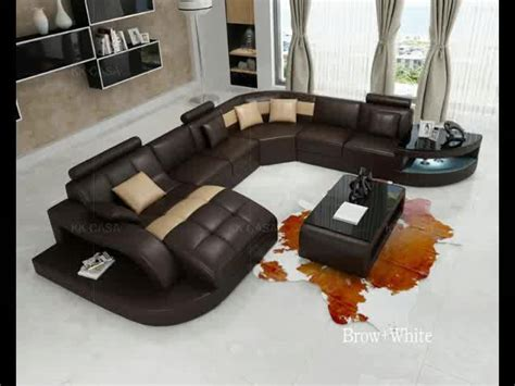 china extra large heavy duty long life foshan sectional genuine leather sofa  living room