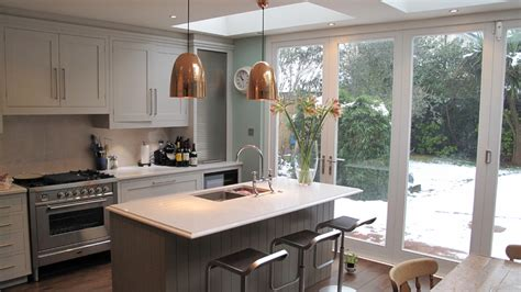 copper pendant light kitchen eclectic with breakfast nook