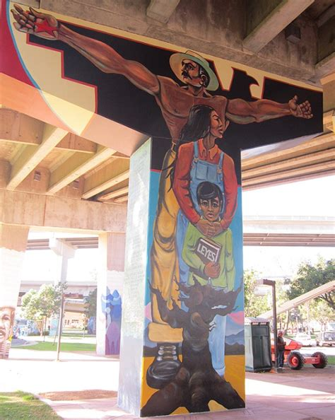 Chicano Park Murals Meanings by Leyes La Familia A Chicano Park Mural Write2think