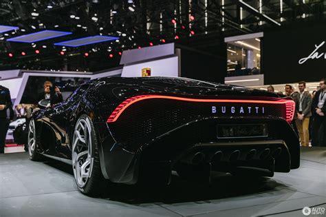 How much does the 2019 bugatti chiron sport cost? Geneva 2019: Bugatti La Voiture Noire