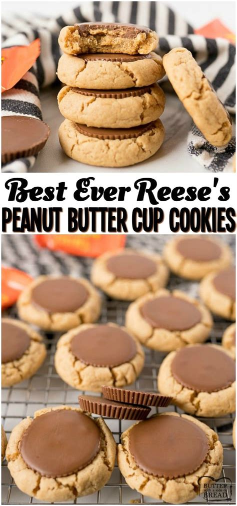 Baking cookies is one of our most beloved christmas traditions. BEST PEANUT BUTTER CUP COOKIES EVER! - Yummy Recipes