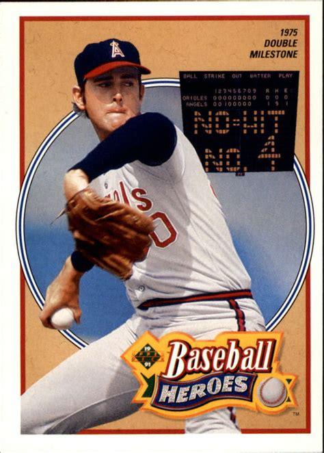 1991 Upper Deck Baseball Insert Singles (pick Your Cards