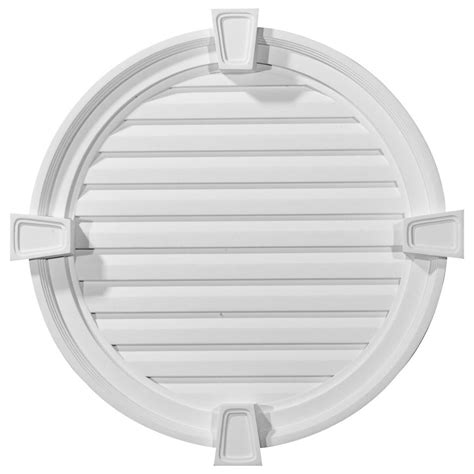 ekena millwork gable vents round gable vent with