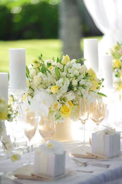 white flower table l 27 best images about yellow shoot on pinterest wedding