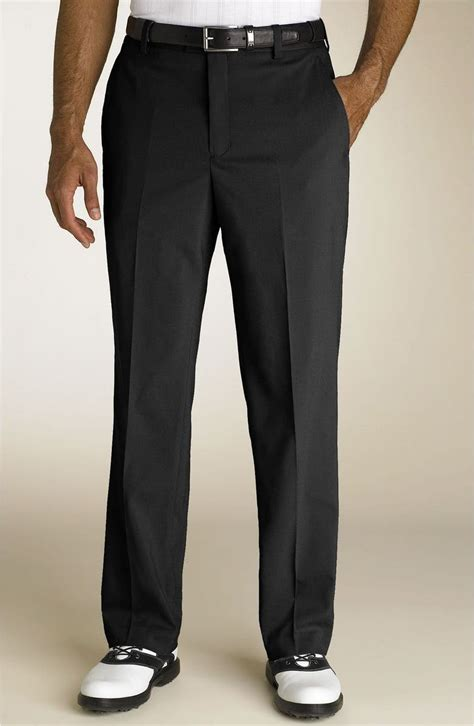 Tiger Woods Golf Apparel Flat Front Pants | Nordstrom