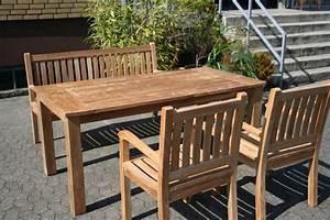 Gartenliegen Holz Dänisches Bettenlager : gartenm bel set aus massivem holz tisch stuhl bank aus teakholz ~ Bigdaddyawards.com Haus und Dekorationen