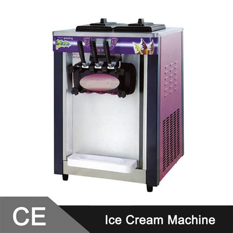 table top ice cream machine sale 18 20l h table top soft ice cream machine with free