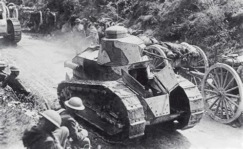 french renault tank tanks in the first world war