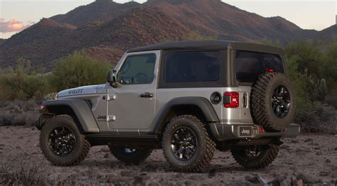 jeep wrangler black tan  willys editions