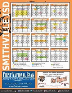 Sisd Academic Calendar  U2013 School Board  U2013 Smithville