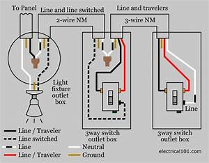 Three Way Switch Wire Diagram