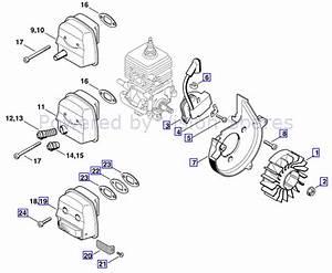 34 Stihl Fs 36 Trimmer Parts Diagram