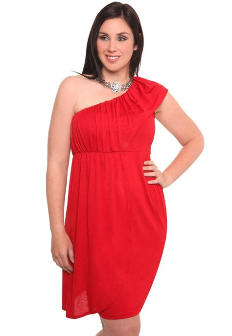 Red Cocktail Plus Size Dress Ideas  Designers Outfits