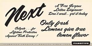 10 1950s Retro Font Images - Free Retro Fonts, 1950s Font ...