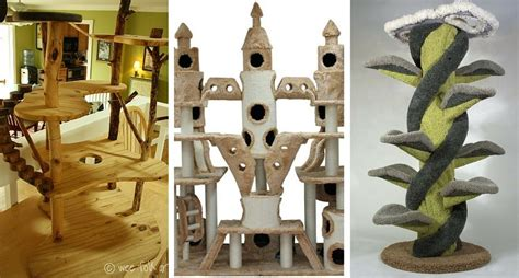 12 Cat Trees So Awesome You'll Wish You Were Feline