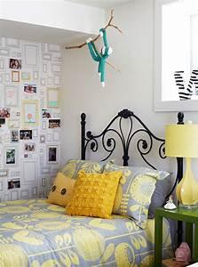 Papier Peint Ado Fille : chambre ado fille en 65 id es de d coration en couleurs ~ Dailycaller-alerts.com Idées de Décoration