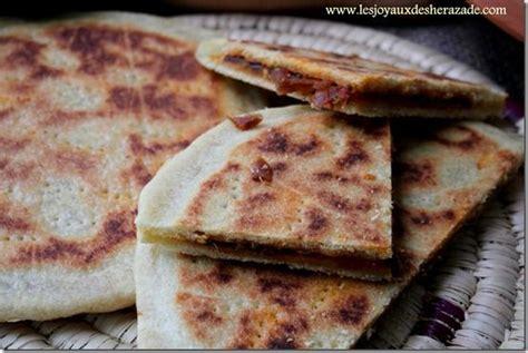cuisine orientale recettes galette kabyle recette de kesra farcie recette