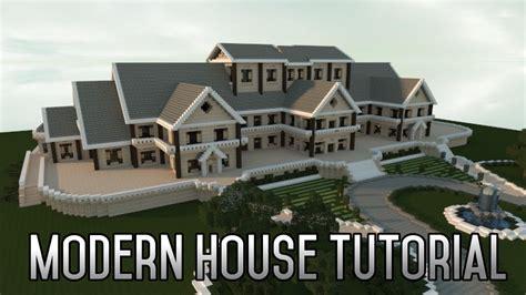 minecraft insane modern house tutorial part  xboxpc