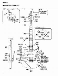 Yamaha Pacifica 012 Service Manual Download  Schematics