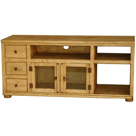 pine television rustic pine collection rubio tv stand com40