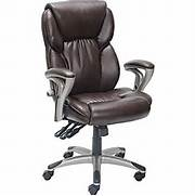 Office Chairs Staples Ca by Staples Serta High Back Managers Chair Brown Staples