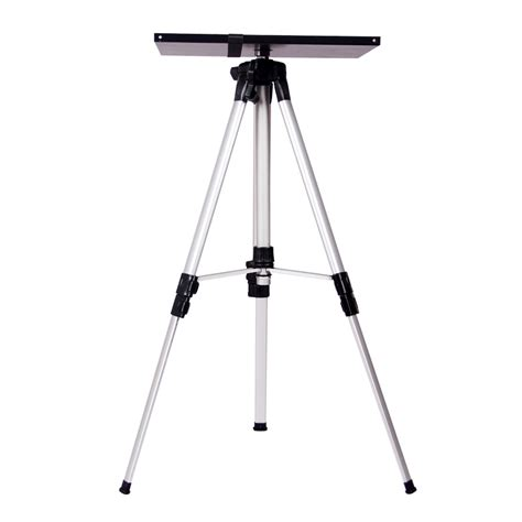 archie photographic tripod floor l foldable portable projector tripod floor stand with tray