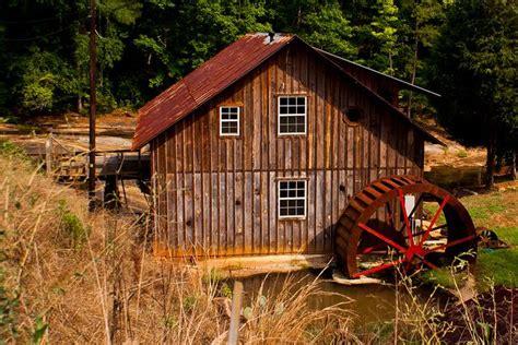 184365 Tobler Grist Mill Water Wheel Grist Mill Water