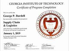 Certificate Programs Supply Chain & Logistics Institute
