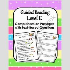 Comprehension Questions, Comprehension And Reading Comprehension On Pinterest