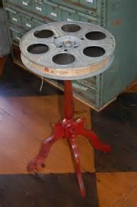 Movie Reel Table